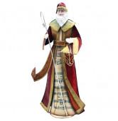 Weihnachtsmann mit Stab
