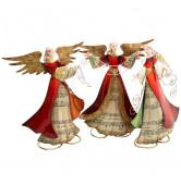 Engel rot betend