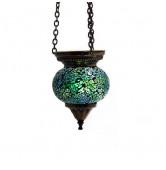Mosaikhängelampe grün