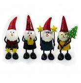 Santa mini 4f. sort.