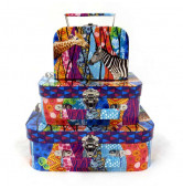 Koffer Zebra set/3