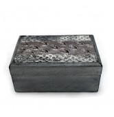 Box rechteckig grau