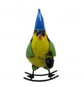 Schaukelfigur Vogel gelb