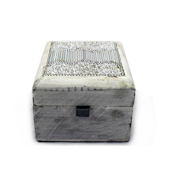 Box quadr. weiß