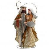 Maria und Joseph champagner