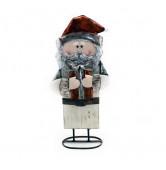 Santa Holz weiß