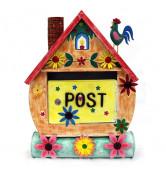 Briefkasten Haus m.Hahn